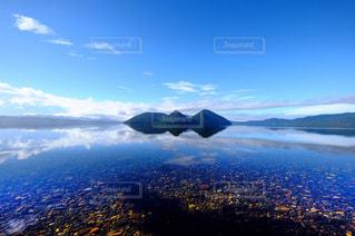 洞爺湖の景色の写真・画像素材[1449387]