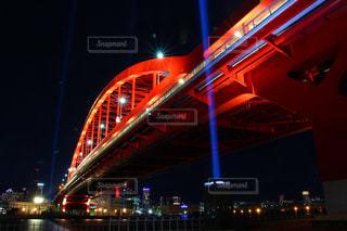 夜の街の景色の写真・画像素材[923969]