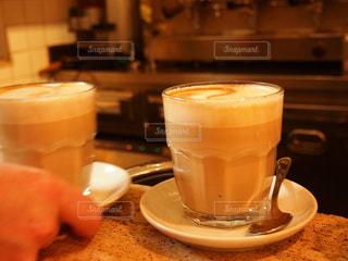 カフェ,コーヒー,ローマ,朝,カプチーノ,イタリア,朝ごはん,モーニング,のんびり