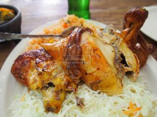 美味しい,鶏肉,メキシコ,グアナファト,LA CARRETA