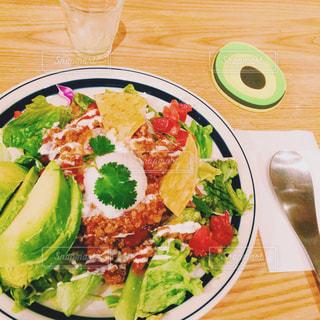 ランチ,avocado