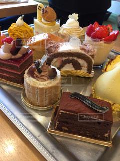 ケーキ,たくさん,チョコケーキ,モンブラン,イチゴケーキ