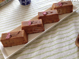 桜,ケーキ,パウンドケーキ,手作り,焼き菓子