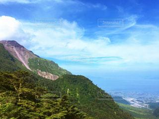 山のビューの写真・画像素材[771813]