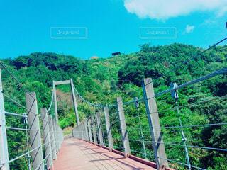 橋の上を走行する列車 - No.858921
