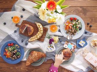 ランチ,パン,オシャレ,テーブルコーディネート,ワクワク,夫婦飯