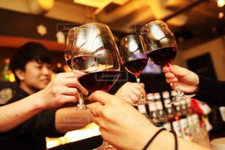 ワイン,グラス,乾杯,ドリンク,BAR