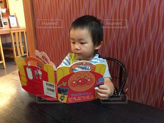 子供,可愛い,勉強,アンパンマン
