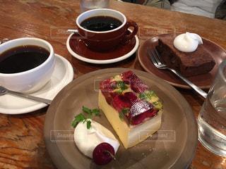 カフェ,ケーキ,コーヒー,おいしい,喫茶,ババロア
