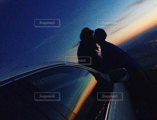 夕日,カップル,夕焼け,デート,スポット,ツーショット,couple,date