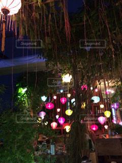 提灯,屋上,ベトナム,ロマンティック,ホーチミン,オープンテラス,secret garden