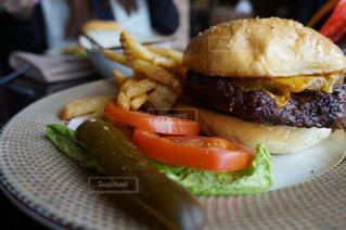 ハンバーガーの写真・画像素材[477119]