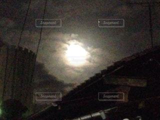 月,満月,幻想,夜月