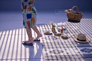 ピクニック日和の写真・画像素材[4350171]