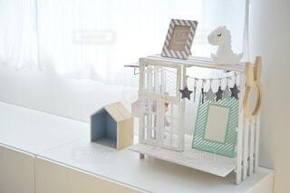 白い子供部屋の写真・画像素材[4354542]