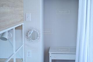 白い子供部屋の写真・画像素材[4379317]