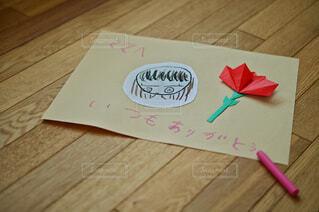 母の日のママへのお手紙の写真・画像素材[4446245]