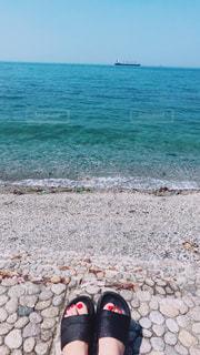 海,夏,ネイル,足,浜辺,サマー,熱中症,暑さ対策