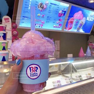 ピンク,いちご,可愛い,韓国,美味しい,サーティワン,シェイク,釜山,新しい,わたあめ,バスキンロビンス,コットンキャンディ