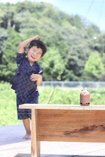 踊る3歳児の写真・画像素材[1362139]