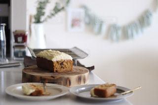 キャロットケーキの写真・画像素材[3281133]
