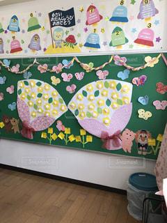 花束,かわいい,子供,幼稚園,おめでとう,卒園式