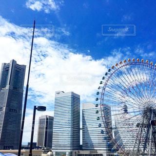 都市の高層ビルの写真・画像素材[1036386]