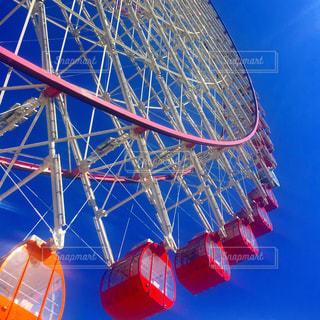 澄んだ青い空の写真・画像素材[1098891]