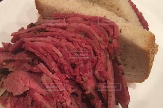 ニューヨーク,朝食,パン,サンドイッチ,閉店,肉肉しい