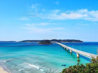 海,空,橋,観光,角島,おでかけ