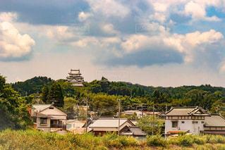 曇り空の家の写真・画像素材[1410537]