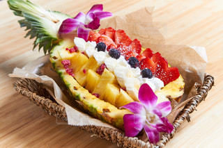 果物,ブルーベリー,果実,パイナップル,イチゴ,バナナ,ウルワツアミーゴ,パイナップルボード