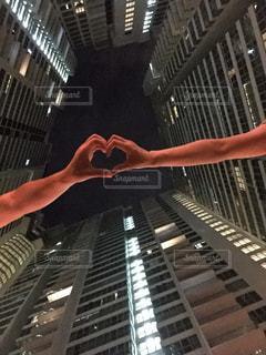 カップル,ハート,高層ビル,マレーシア,思い出