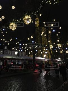 カフェ,建物,夜,きれい,ヨーロッパ,イルミネーション,旅行,旅,クリスマス,オランダ