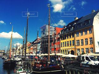市船をドッキングします。の写真・画像素材[1819988]