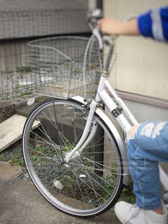 自転車の写真・画像素材[423386]