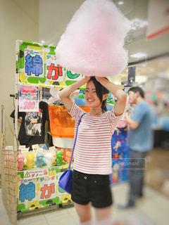 綿菓子の写真・画像素材[1404737]