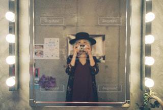 大きな女優ミラーは女の子の憧れ♡の写真・画像素材[2477575]