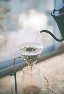 コーヒーを入れるの写真・画像素材[2896623]