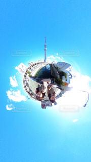 東京,晴れ,スカイツリー,快晴,東京観光,360度カメラ,THETAS