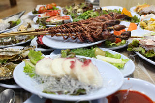 韓国,海鮮,タコ,韓国料理,仁川,イイダコ,내고향강원도,小皿料理