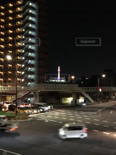 夜,夜景,京都,京都タワー