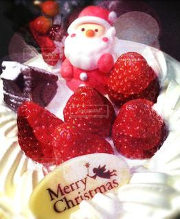 スイーツ,ケーキ,フルーツ,洋菓子,クリスマス,サンタクロース,クリスマスケーキ,12月,ショートケーキ