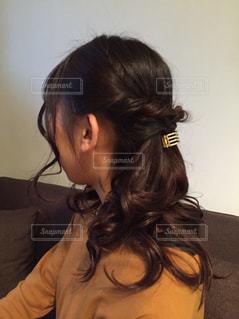 髪型の写真・画像素材[396576]