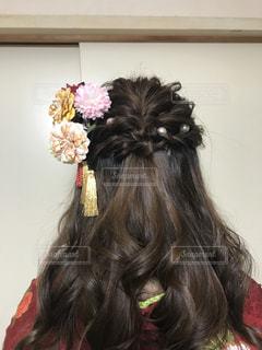 取って、selfie ピンクの髪の女 - No.1059518