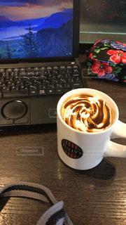 カフェの写真・画像素材[414164]