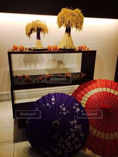 インテリア,日本,稲,和傘,和風