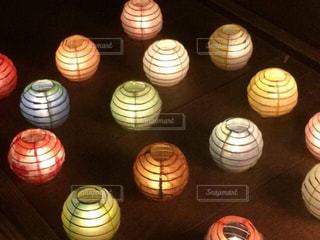 インテリア,カラフル,ライト,提灯,日本,和風,和紙