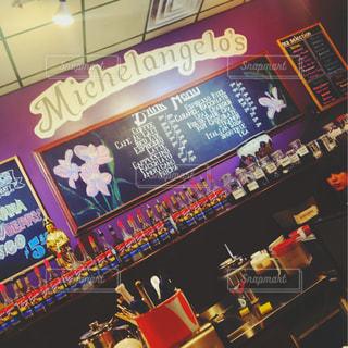 カフェ,コーヒー,海外,アメリカ,Michelangelo's
