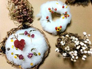 植物,リース,装飾,フラワーアレンジ,飾り
